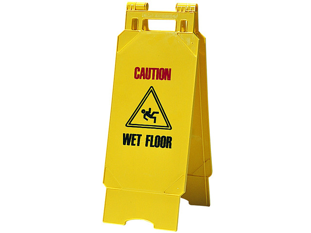 Cleaning Floor Signs
