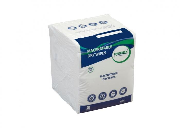 Flushable & Maceratable Patient Wipes