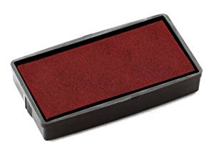 E/20 Replacement Ink Pad - Red x2 | Medical Supermarket
