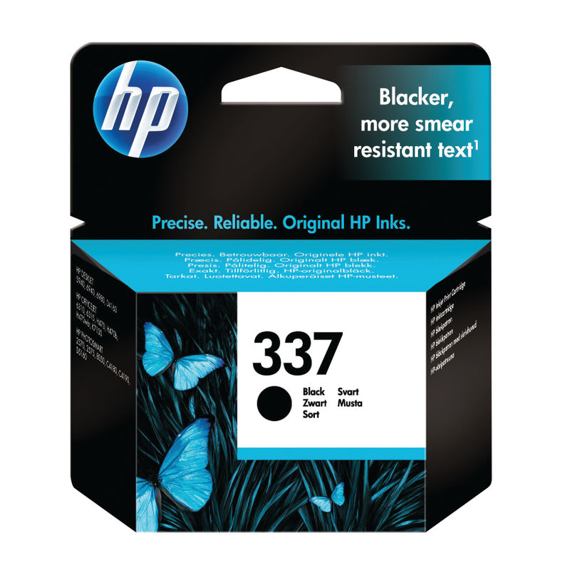 HP No.337 Black Ink Cartridge | Medical Supermarket