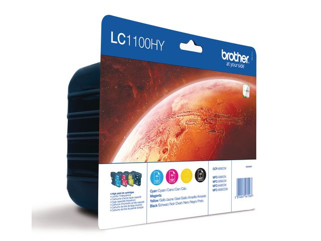 Brother LC1100 High Capacity Ink Cartridge Multipack | Medical Supermarket