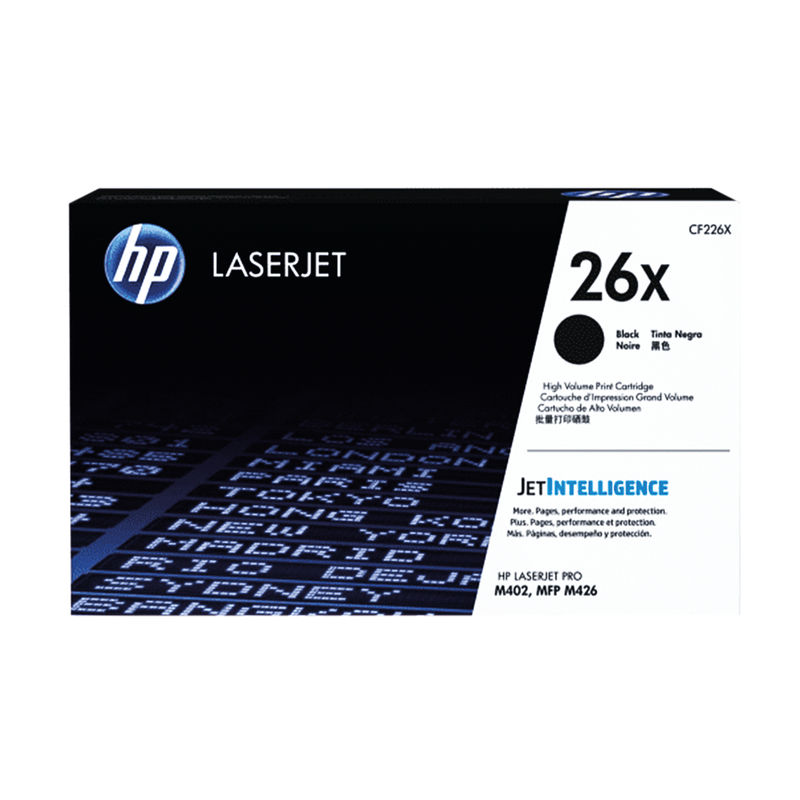 High Capacity HP No.26X Black Toner | Medical Supermarket