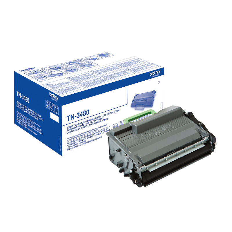 Brother TN3480 High Capacity Toner | Medical Supermarket