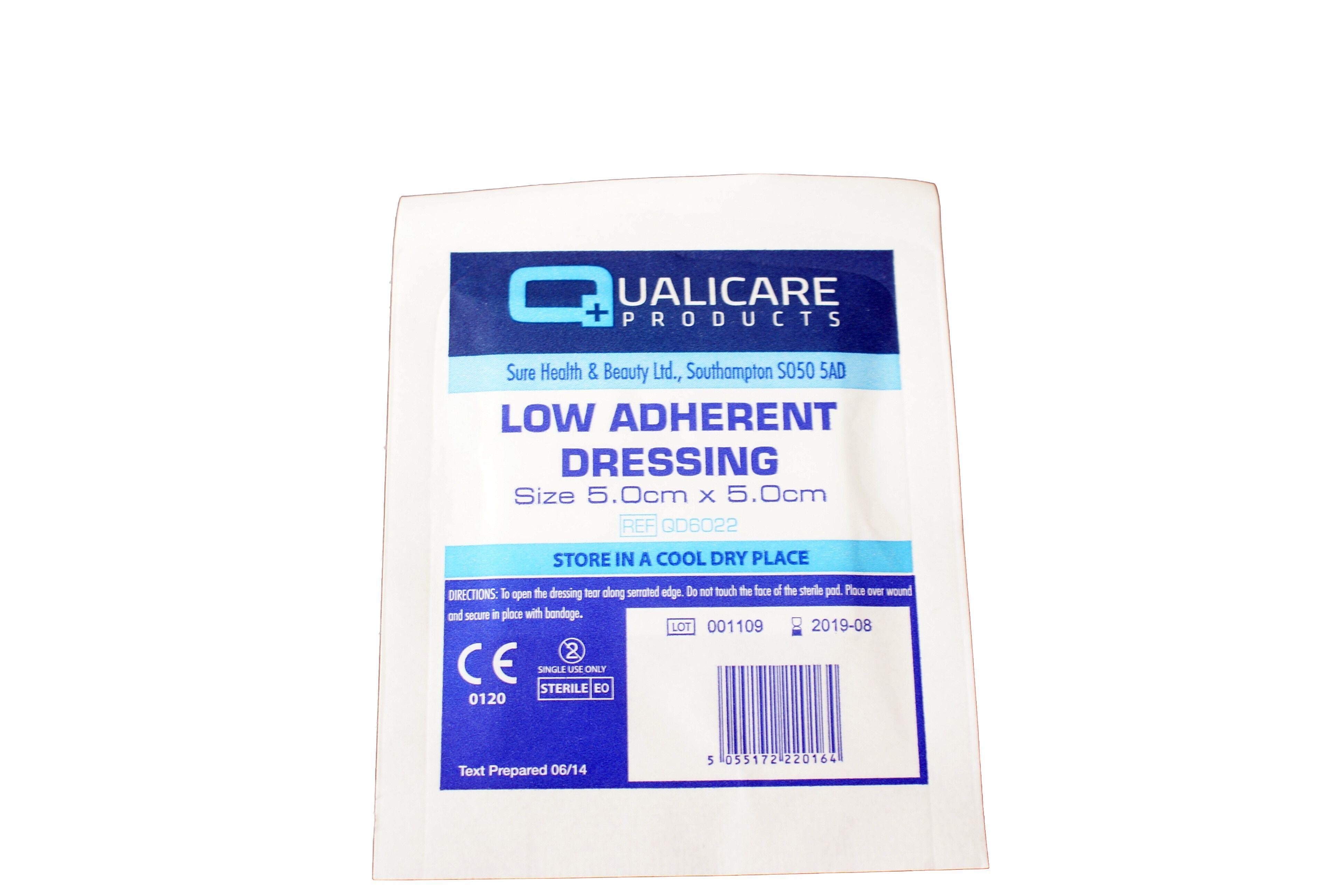 Low Adherent Dressing 5cm x 5cm | Medical Supermarket