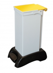 Fire Retardant 23 Litre Sackholder Plastic Base Metal Body | Medical Supermarket
