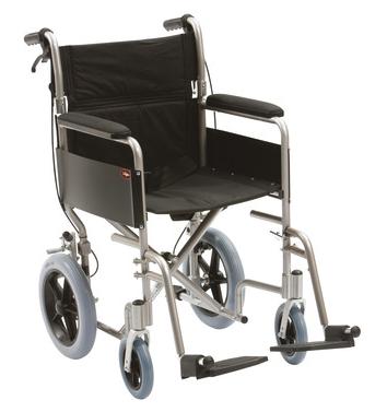 Lightweight Alumnium Transit Wheelchair | Medical Supermarket