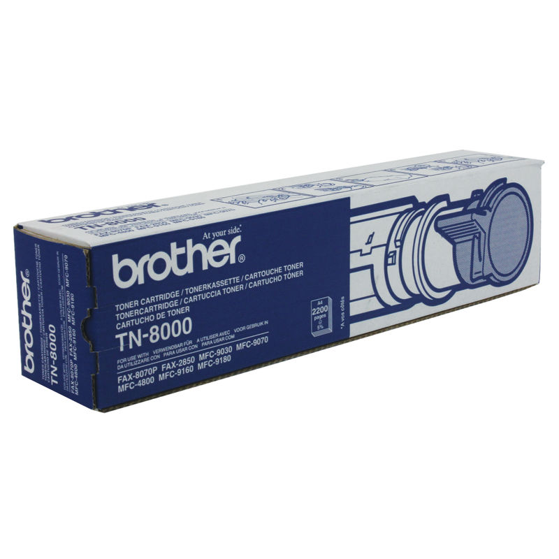 Brother TN8000 Black Toner Cartridge | Medical Supermarket
