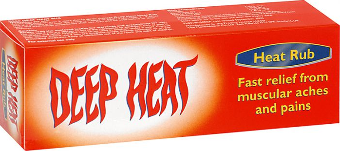 (P) Deep Heat Rub - 100gm | Medical Supermarket