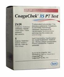 Coaguchek XS PT Test Strips Pack of 48 | Medical Supermarket