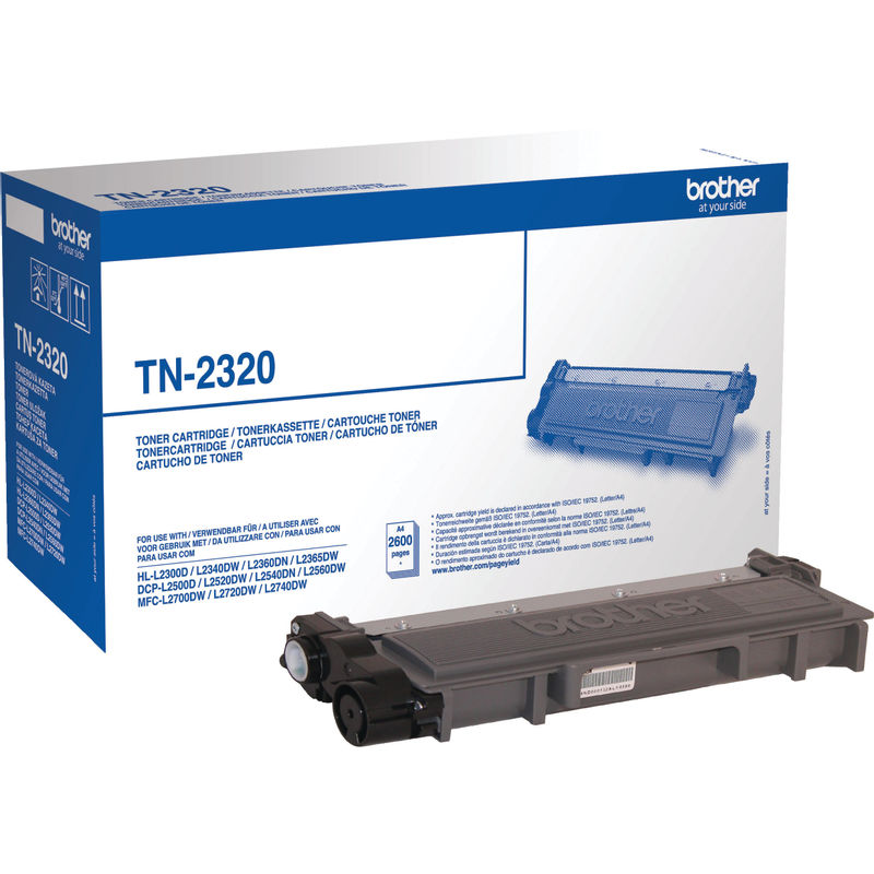 Brother TN2320 High Capacity Black Toner | Medical Supermarket