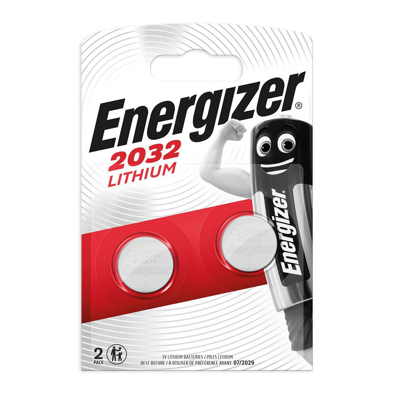 Energizer CR2032 Coin Cell Lithium Battery | Medical Supermarket