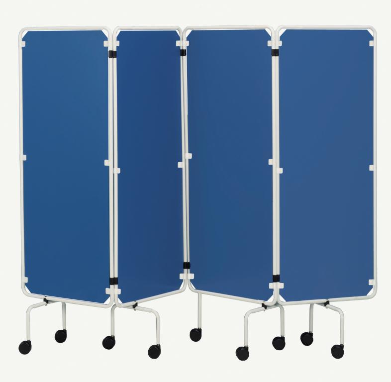 Sidhil Screen Frame Panels Only Blue Panels | Medical Supermarket