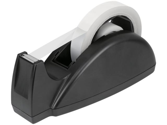 Dual Core Desktop Tape Dispenser Black | Medical Supermarket