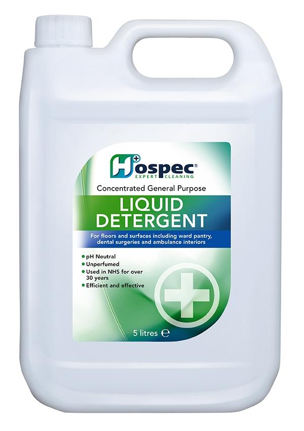 Neutral Liquid Detergent 5 Litres (Case of 3) | Medical Supermarket