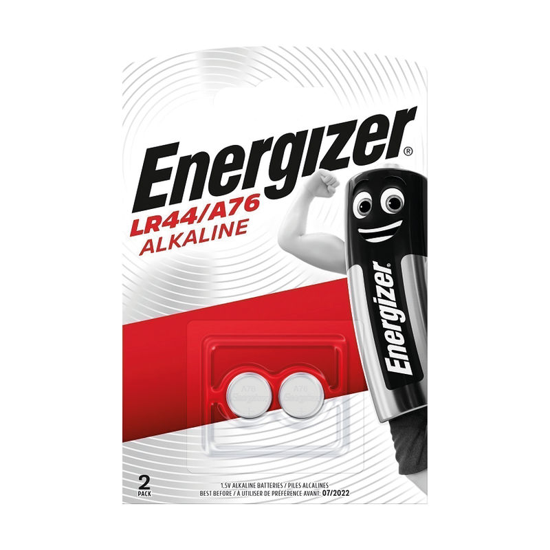 Energizer LR44 Coin Cell Lithium Battery | Medical Supermarket