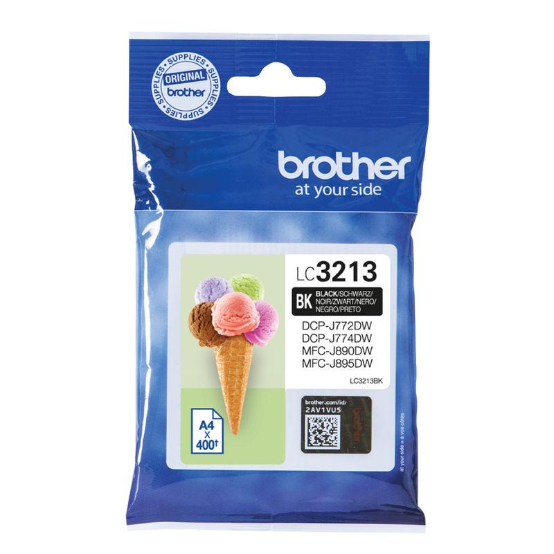 Brother LC3213 Ink Cartridge Black | Medical Supermarket