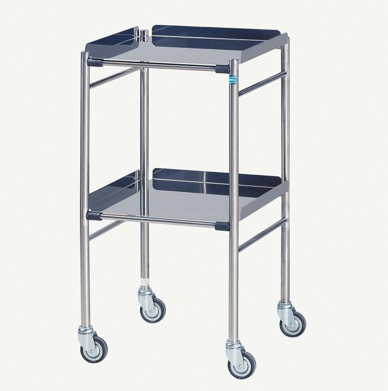 Hastings Stainless Steel Trolley 460 x 460mm | Medical Supermarket