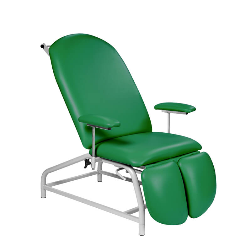 Fixed Height Treatment Chair Adjustable Feet | Medical Supermarket