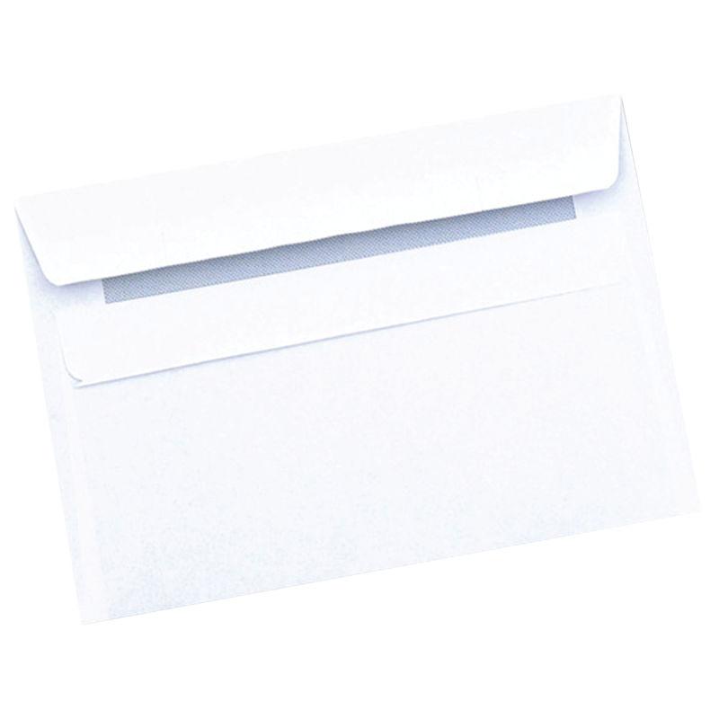 C6 White Plain Envelopes C6 White Plain Envelopes 80gsm, Self Seal | Medical Supermarket