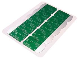Silver Mactrode Plus- Adult Disposable Resting ECG Electrodes | Medical Supermarket