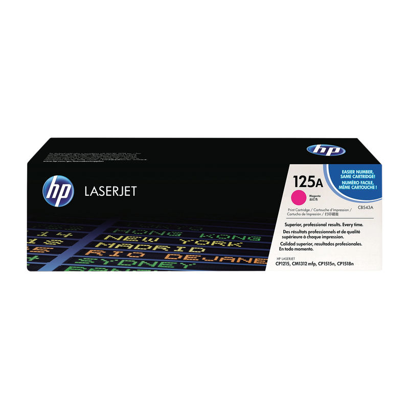 HP No.125A Toner Magenta | Medical Supermarket