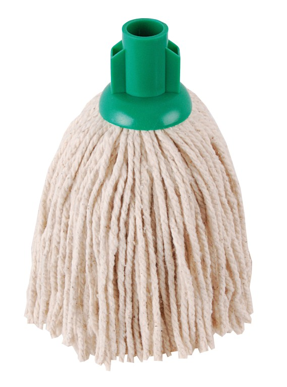 Hygiene Py Yarn Mop Size 12 Green | Medical Supermarket