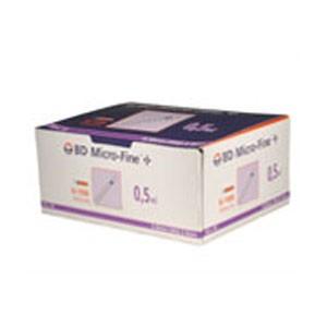 BD Insulin Syringe 0.5ml x 8mm | Medical Supermarket
