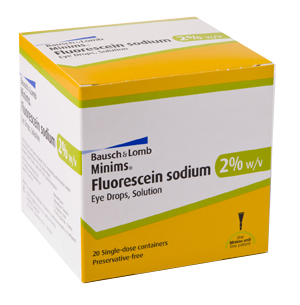 (POM) Fluorescein Sodium 2% | Medical Supermarket
