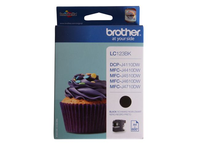 Brother LC123 Ink Cartridge Black | Medical Supermarket