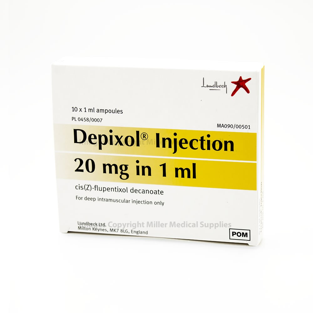 Depixol Ampoule 20mg/ml | Medical Supermarket