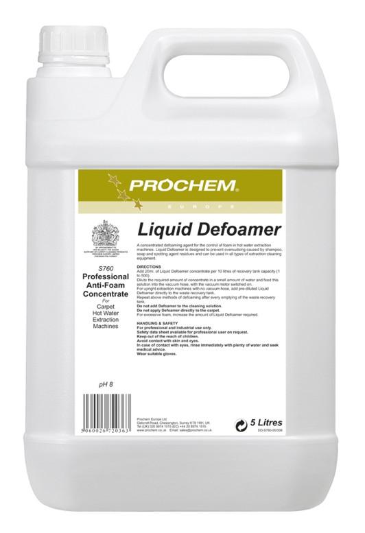 Prochem Liquid Defoamer | Medical Supermarket