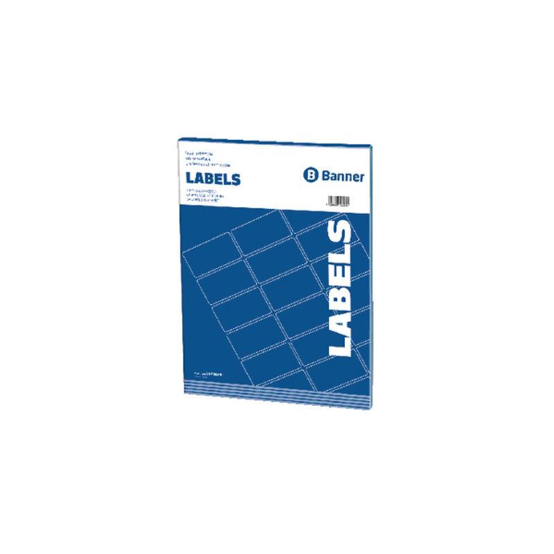 Multi Purpose Labels 64.6 x 33.8mm (24 Per Sheet) | Medical Supermarket