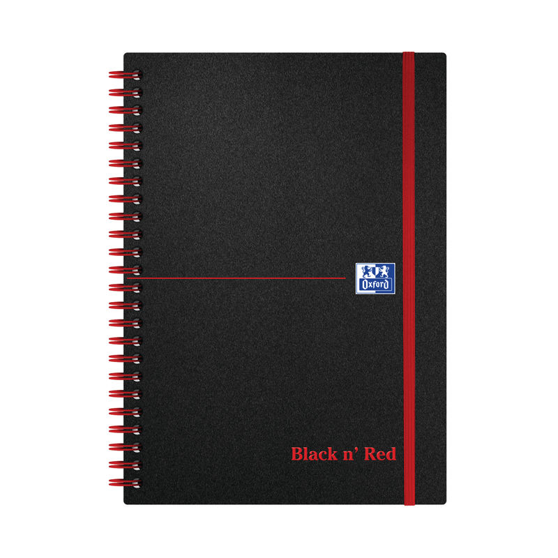 A5 Wirebound Notebook Ruled - Polypropylene Cover   Medical Supermarket