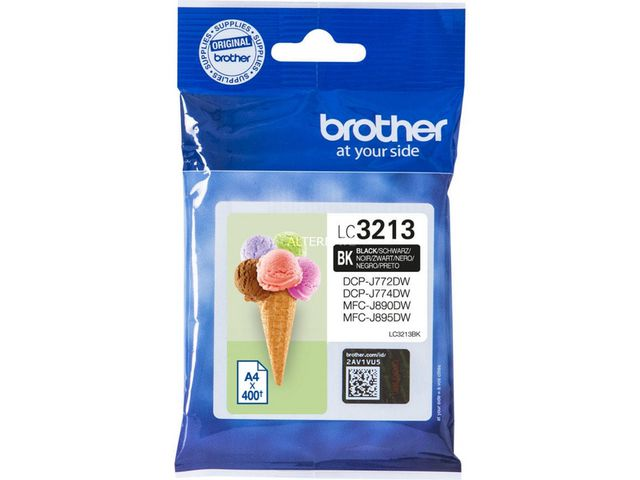 Brother LC3213BK Black Ink Cartridge | Medical Supermarket