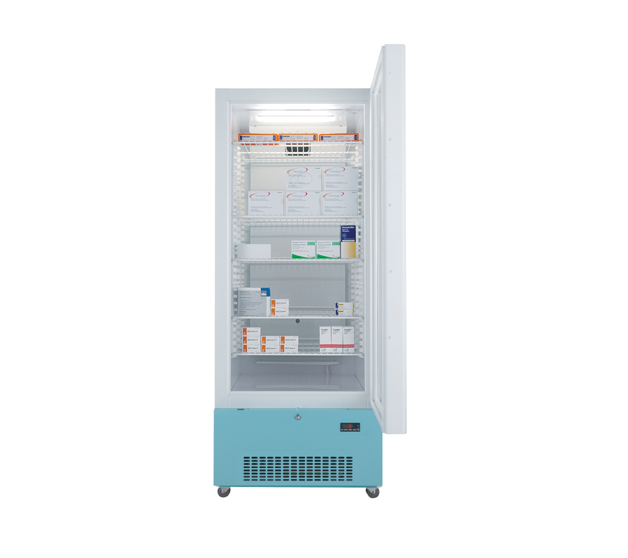 Lec PG1607C Pharmacy Refrigerator with Glass Door (444 Litres) | Medical Supermarket