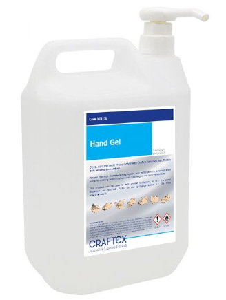 Alcohol Hand Sanitising Gel 70% 5Ltr | Medical Supermarket