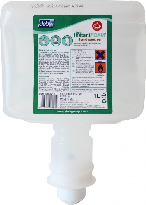 Deb Cutan InstantFOAM Cartridge (for touch-free dispenser) | Medical Supermarket