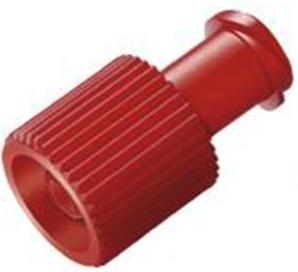 Red Combi Stopper (Braun Syringe Bung) | Medical Supermarket