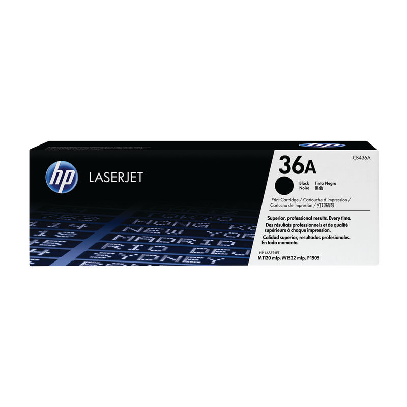HP No.36A Black Ink Cartridge | Medical Supermarket