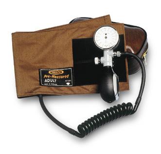 Accoson Duplex Blood Pressure Monitor Red | Medical Supermarket