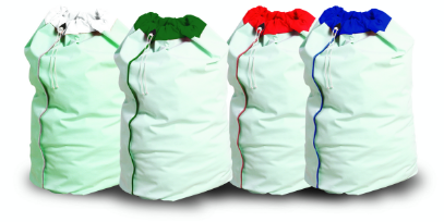 LB10 Waterproof Laundry Bags Red | Medical Supermarket
