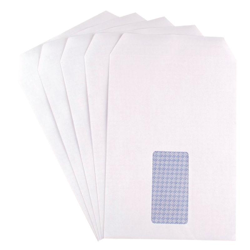 C5 White Window Envelopes 90gsm, Self Seal | Medical Supermarket