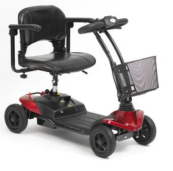 Scooter Strider, Micro Eco 4 Wheel - Red (ST1R)   Medical Supermarket