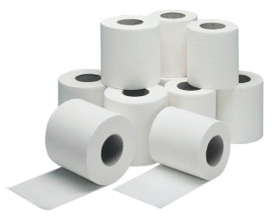 Standard 2 Ply 320 Sheet Toilet Rolls Pack of 36 | Medical Supermarket