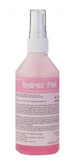 Hydrex Pink Alcohol Skin Disinfectant, Derma Spray 200ml (Pk/1) | Medical Supermarket