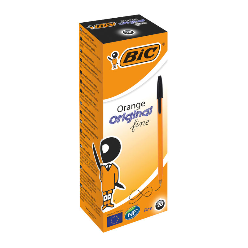 Bic Cristal Fine Ballpoint Pens Black | Medical Supermarket