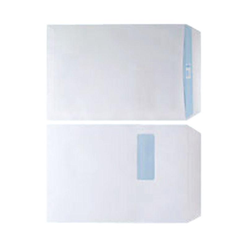 C4 White Window Envelopes 100gsm, Self Seal | Medical Supermarket