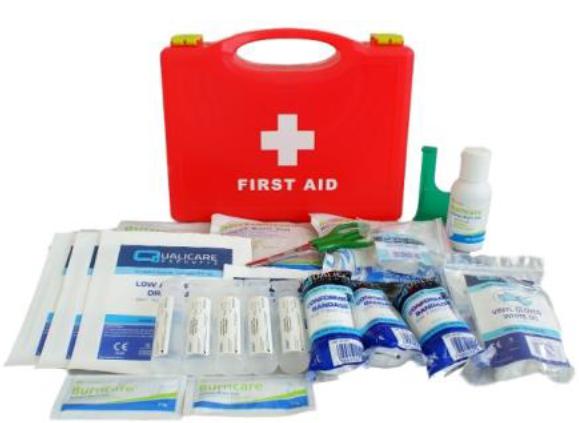 Burns First Aid Kit Box - Large | Medical Supermarket