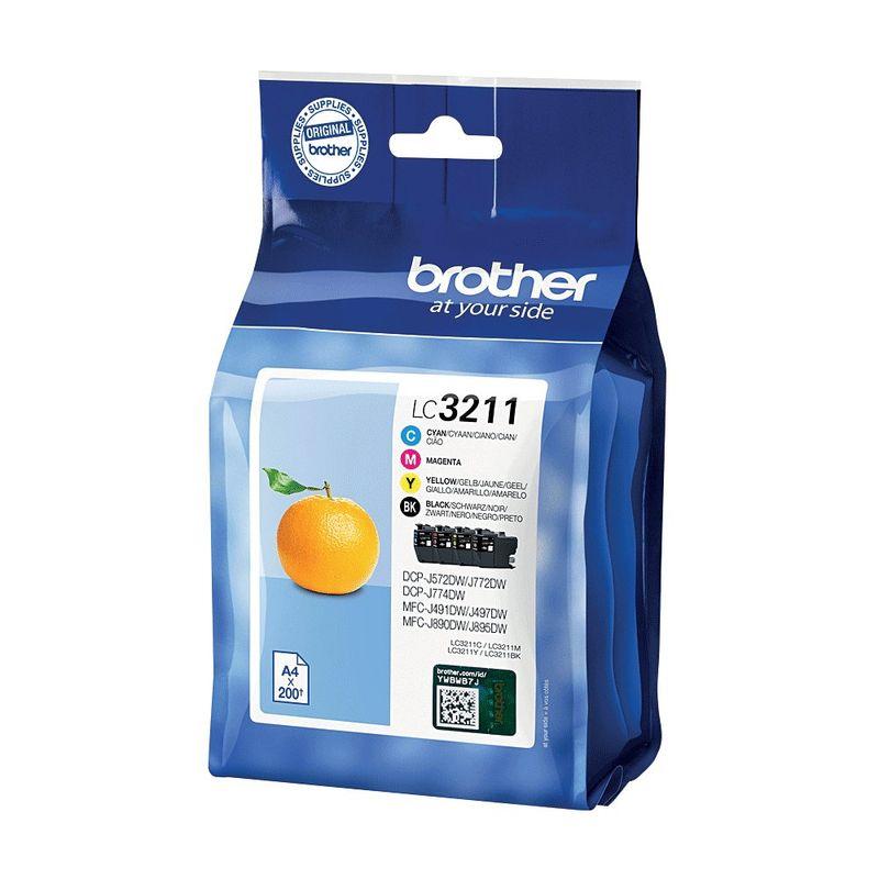 Brother LC3211 Multipack Ink | Medical Supermarket