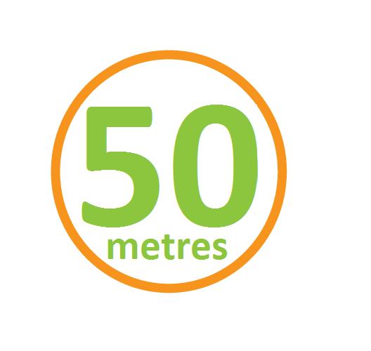 50metres